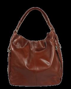 Italská kožená kabelka Gemma Cioccolato