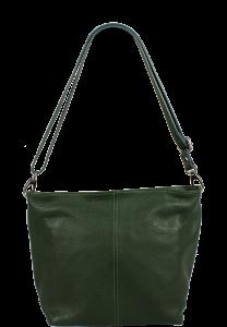 Kožená kabelka Prisca Verde