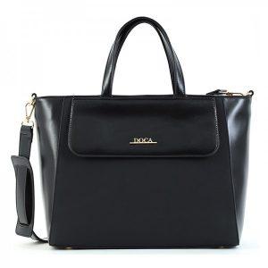 Dámská kabelka Doca 15495 – černá