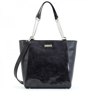 Dámská kabelka Doca 15530 – černá