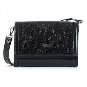 Dámská crossbody kabelka Doca 15150 – černá