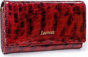 Lorenti červená kožená peněženka RFID (64003-PT RED) Velikost: univerzální