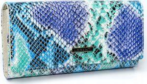Lorenti barevná kožená peněženka RFID (72401-SM RFID SNAKE) Velikost: univerzální