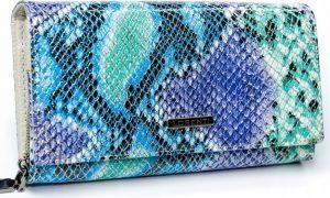 Lorenti barevná kožená peněženka RFID (76111-SM RFID SNAKE) Velikost: univerzální