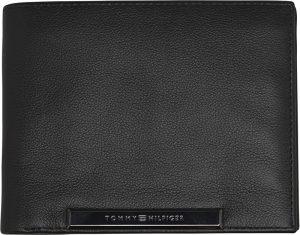 Tommy Hilfiger Pánská peněženka Corp Plaque Cc Flap And Coin Black