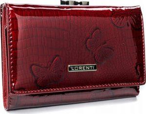 Lorenti červená kožená peněženka (55020-RSBF RED) Velikost: univerzální