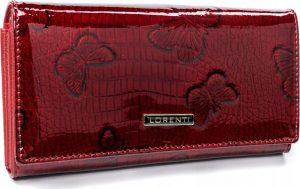 Lorenti červená kožená peněženka (64003-RSBF RED) Velikost: univerzální