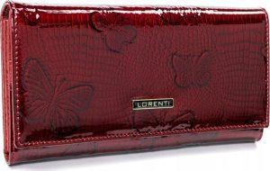 Lorenti červená kožená peněženka (72037-RSBF RED) Velikost: univerzální