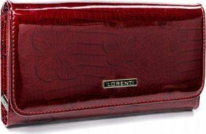 Lorenti červená kožená peněženka (76110-RSBF RED) Velikost: univerzální