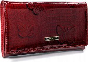 Lorenti červená kožená peněženka (76114-RSBF RED) Velikost: univerzální