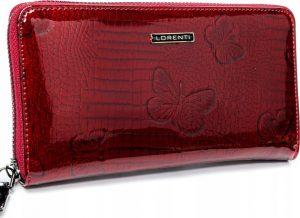 Lorenti červená kožená peněženka (76119-RSBF RED) Velikost: univerzální