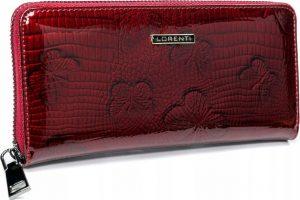 Lorenti červená kožená peněženka (77006-RSBF RED) Velikost: univerzální