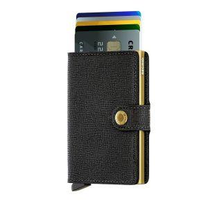 Černo-zlatá peněženka Miniwallet 43462