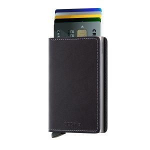 Černá peněženka Slimwallet Original 43465