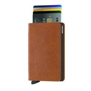 Hnědá peněženka Slimwallet Original 43466