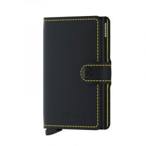 Černá peněženka Miniwallet Matte 53597