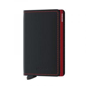 Černá peněženka Slimwallet Matte 53598