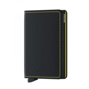 Černá peněženka Slimwallet Matte 53599