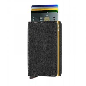 Černá peněženka Slimwallet Crisple 53600