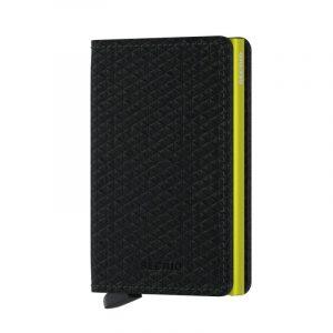 Černá peněženka Slimwallet Diamond 53605