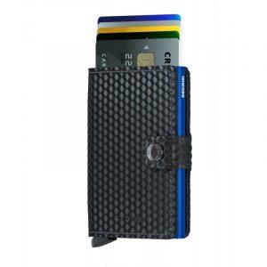 Černá peněženka Miniwallet Cubic 53606