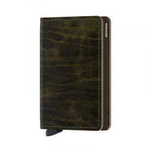 Olivová peněženka Slimwallet Dutch Martin 53617