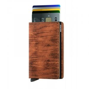 Hnědá peněženka Slimwallet Dutch Martin 53618