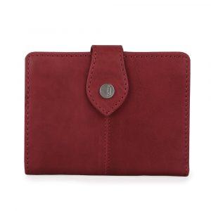 Maître Dámská kožená peněženka Lemberg Davina 4060001392 – tmavě červená