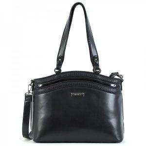 Dámská kabelka Doca 15315 – černá