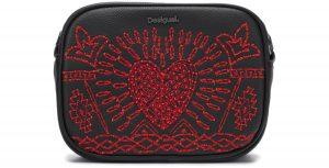 Beating Heart Virgin Cross body bag Desigual | Černá Červená | Dámské | UNI