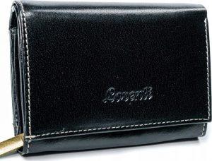 Lorenti černá kožená peněženka RD-02-BAL BLACK Velikost: univerzální
