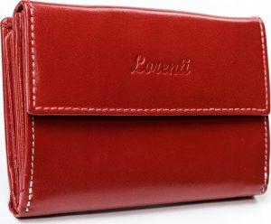 Lorenti červená kožená peněženka RD-03-BAL RED Velikost: univerzální