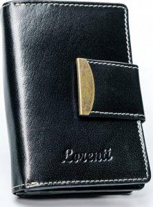 Lorenti černá kožená peněženka RD-04-BAL BLACK Velikost: univerzální