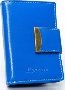 Lorenti modrá kožená peněženka RD-04-BAL BLUE Velikost: univerzální