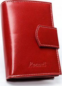 Lorenti červená kožená peněženka RD-05-BAL RED Velikost: univerzální