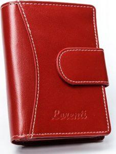 Lorenti červená kožená peněženka RD-09-BAL RED Velikost: univerzální