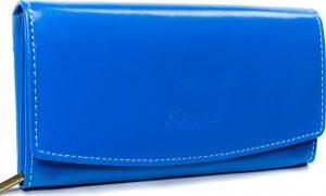 Lorenti modrá kožená peněženka RD-11-BAL BLUE Velikost: univerzální