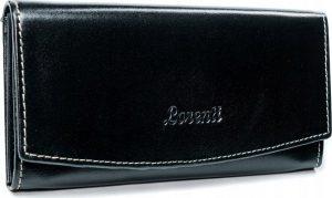 Lorenti černá kožená peněženka RD-11-BAL BLACK Velikost: univerzální