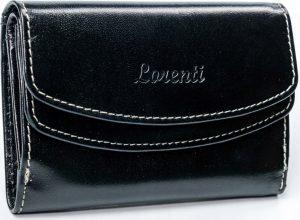 Lorenti černá kožená peněženka RD-14-BAL BLACK Velikost: univerzální