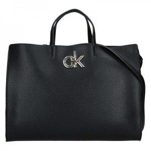 Dámská kabelka Calvin Klein Edisa – černá