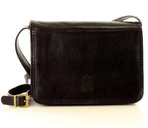 MARCO MAZZINI černá crossbody kabelka (l178a) Velikost: univerzální