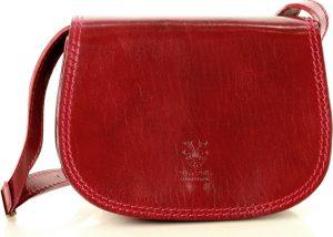 MARCO MAZZINI červená crossbody kabelka (l177d) Velikost: univerzální