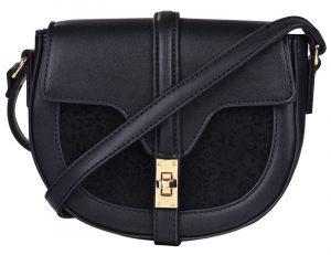 Verde Dámská crossbody kabelka 16-5372-2 Black