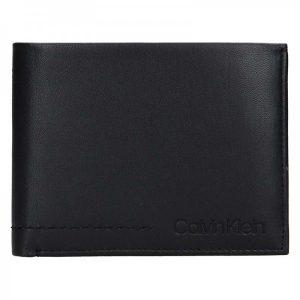 Pánská kožená peněženka Calvin Klein Tobin – černá