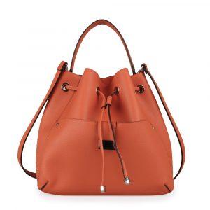 Tom&Eva Dámská kabelka přes rameno 6607 – oranžová