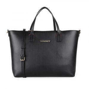 Tommy Hilfiger Dámská kabelka Iconic Tommy AW0AW07353 – černá