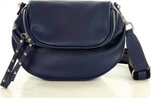 Modrá crossbody kabelka MARCO MAZZINI (l139b) Velikost: univerzální