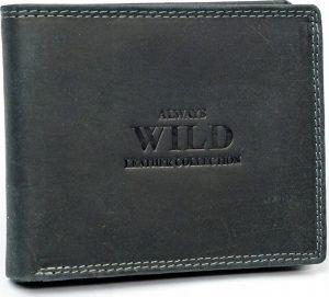 Always Wild kožená peněženka (N992-MHU BLACK) Velikost: univerzální