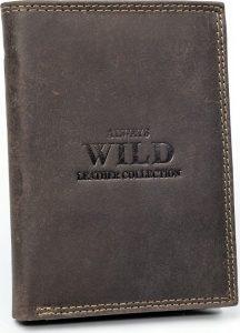 Always Wild kožená peněženka RFID (N890-MHU BROWN) Velikost: univerzální