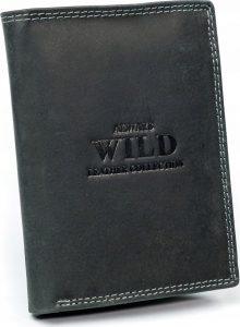 Always Wild kožená peněženka RFID (D1072-MHU BLACK) Velikost: univerzální